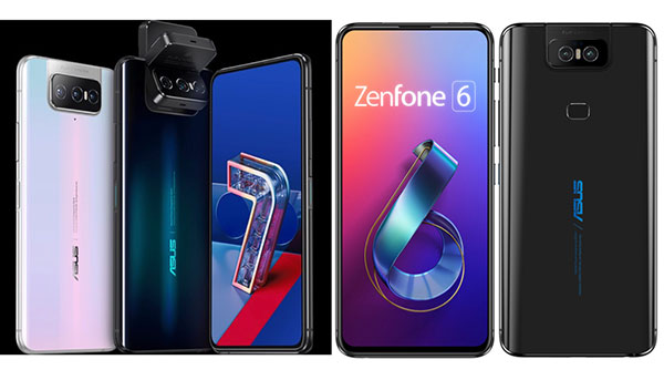 ZenFone 7はZenFone 6から何が変わった