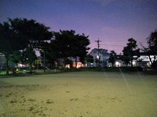 Xperia 10 IIで撮影した夜景