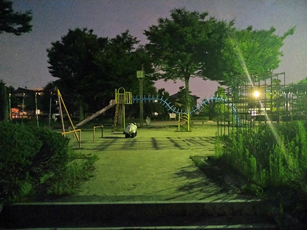 Xperia 10 IIで撮影した暗所