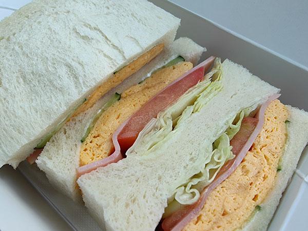 OPPO Find X2 Proで撮影したサンドイッチ