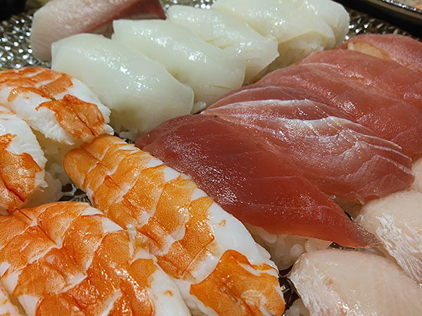 OPPO Find X2 Proで撮影した寿司