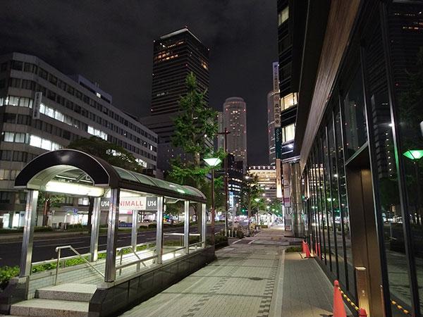 TCL 10 Liteで撮影した夜景