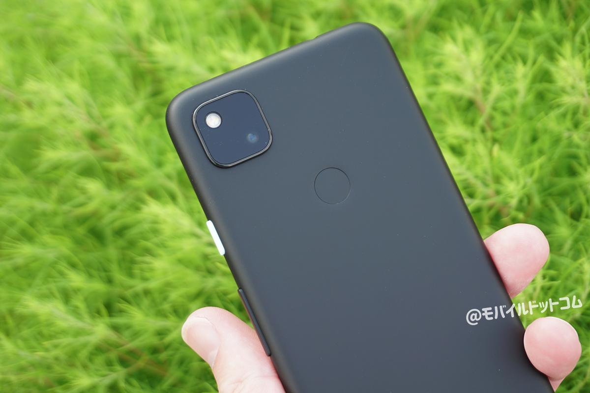 Google Pixel 4aのカメラをレビュー