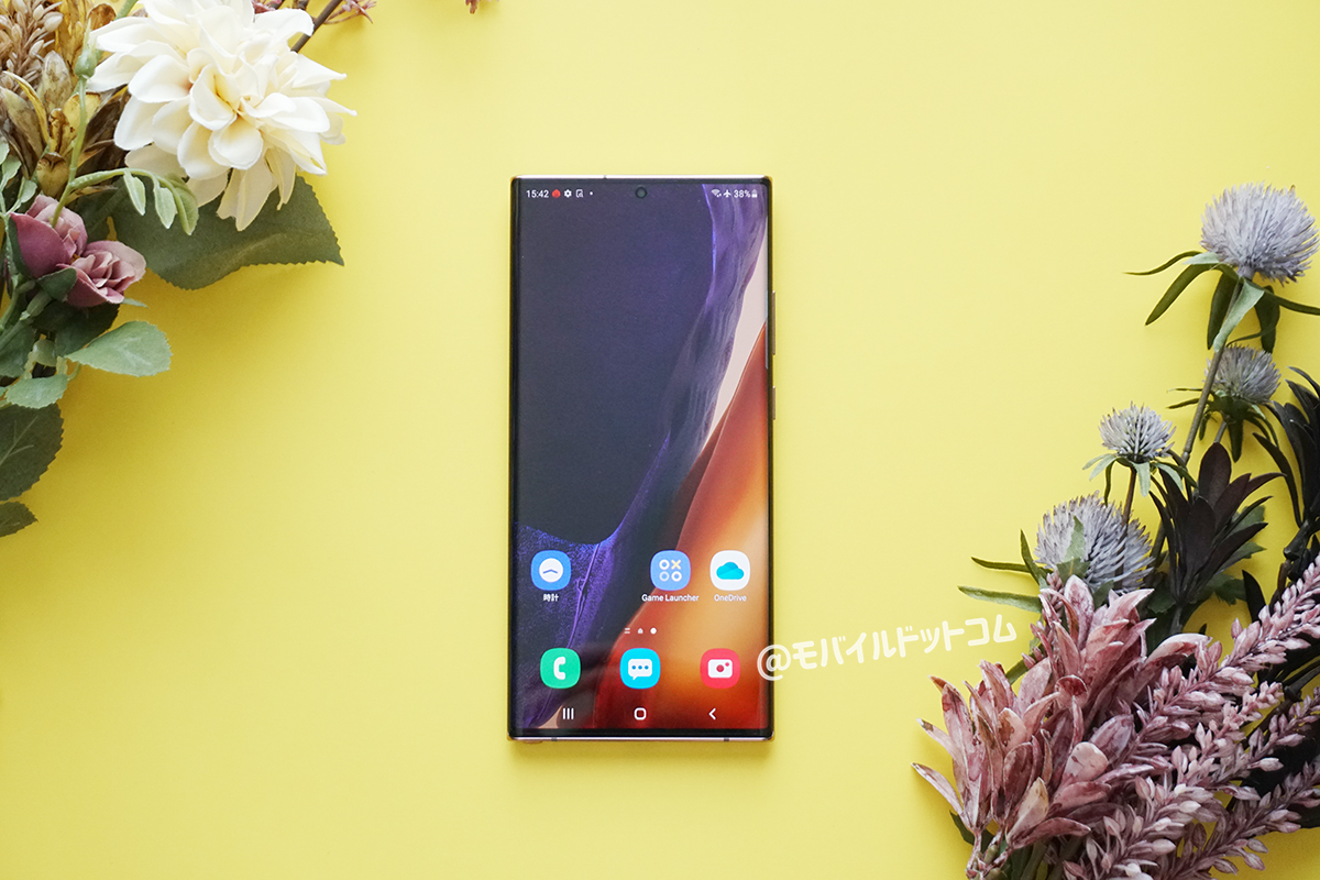 Galaxy Note20 Ultra 5Gのメリット(良いところ)