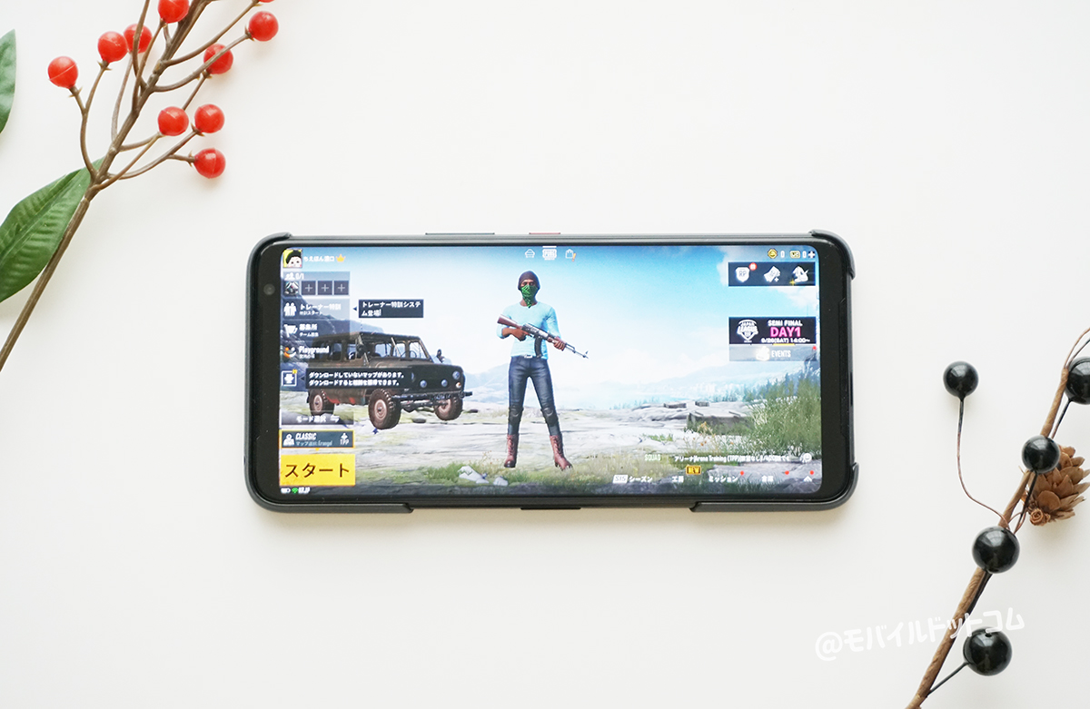 ROG Phone 3のゲーム・アプリ動作をチェック