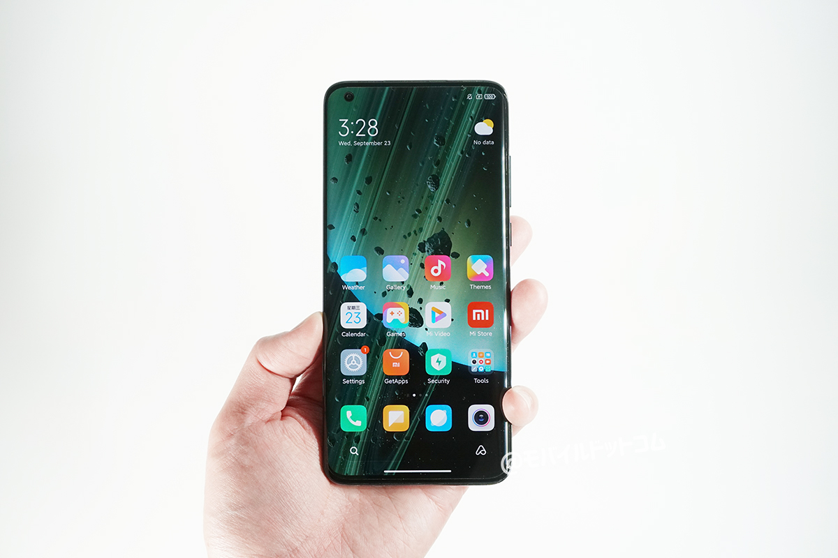 Xiaomi Mi 10 Ultraを実際に持ってみました