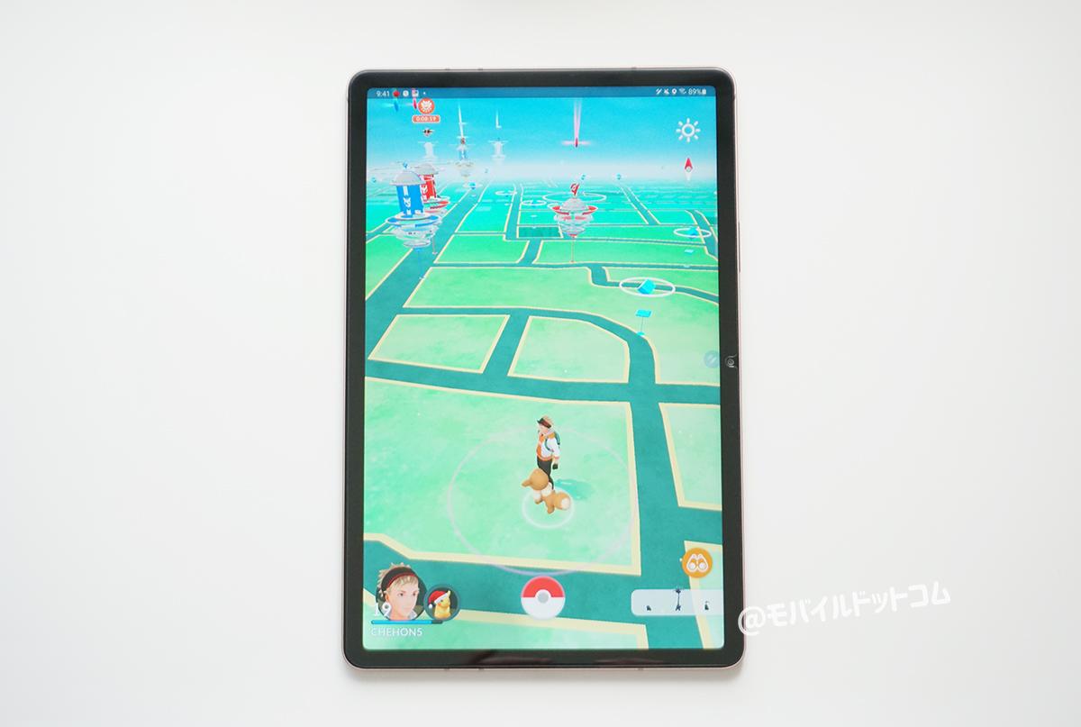 Galaxy Tab S7でポケモンGOの動作チェック