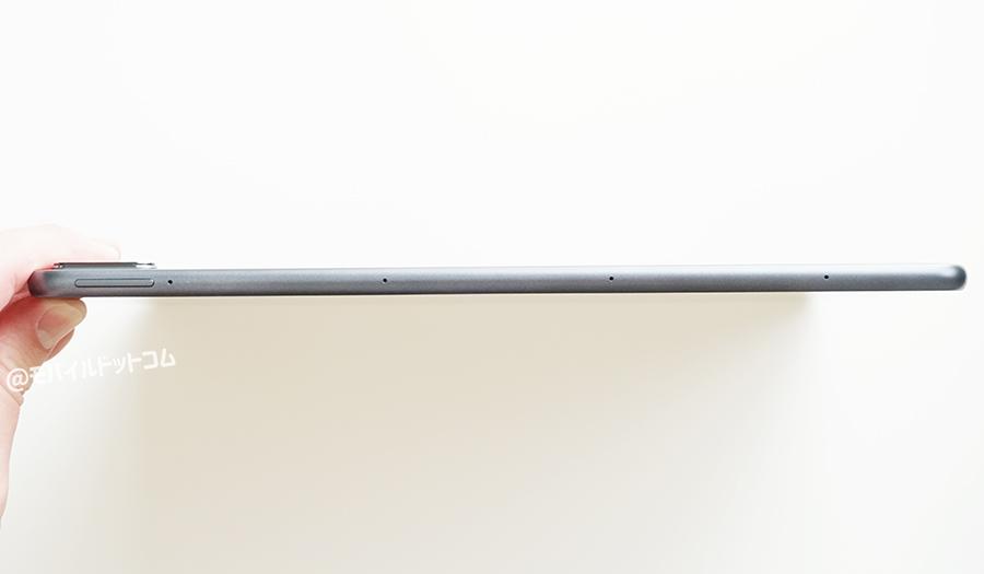 右側面には、「スピーカー」×2