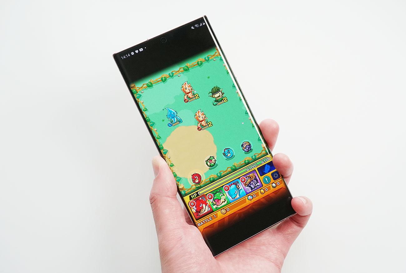 Galaxy Note20 Ultra 5Gでモンストの動作チェック