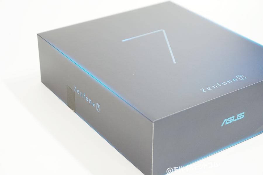 ZenFone 7のパッケージデザイン