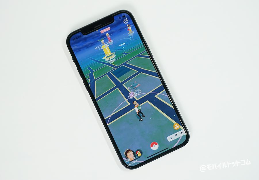 iPhone 12でポケモンGOの動作チェック