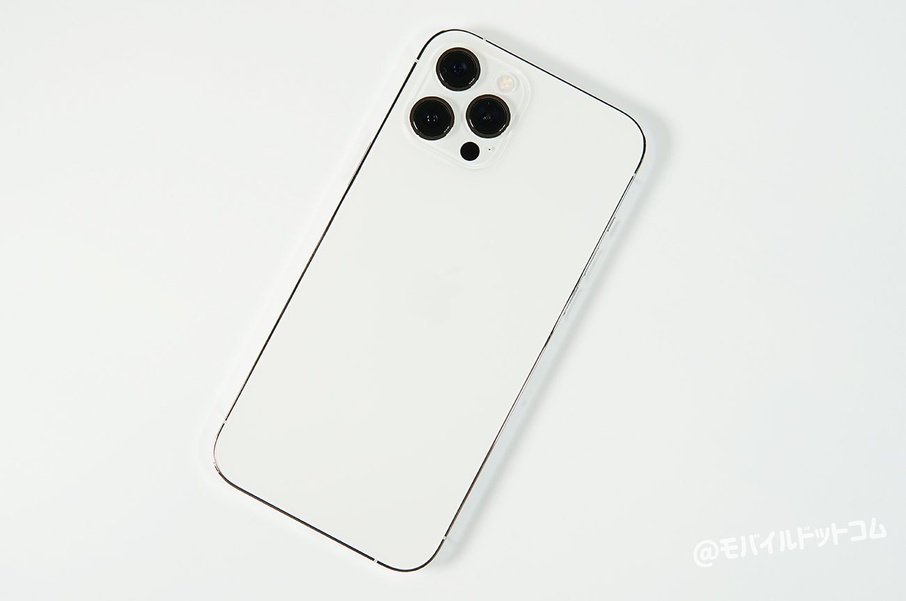 iPhone 12 Pro Maxの背面