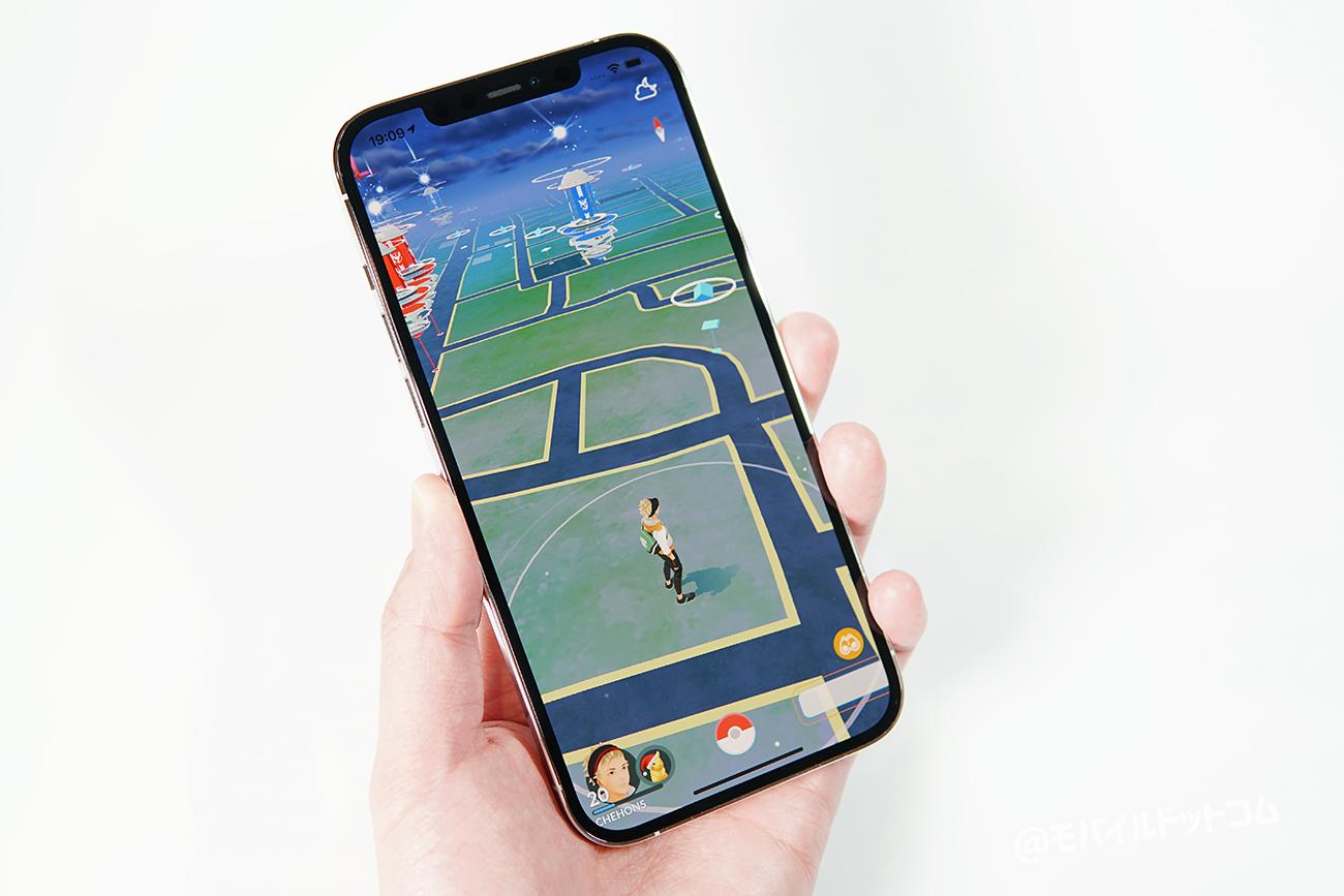 iPhone 12 Pro MaxでポケモンGOの動作チェック