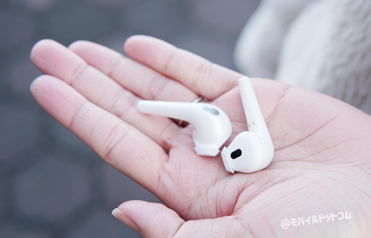 片耳わずか3.8gの軽さが魅力!コンパクトで持ち運びにも最高