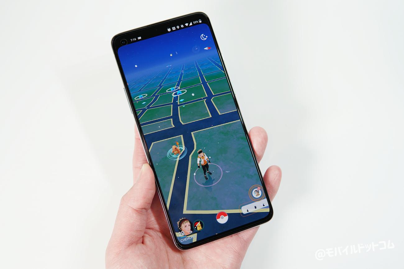 OnePlus 8TでポケモンGOの動作チェック