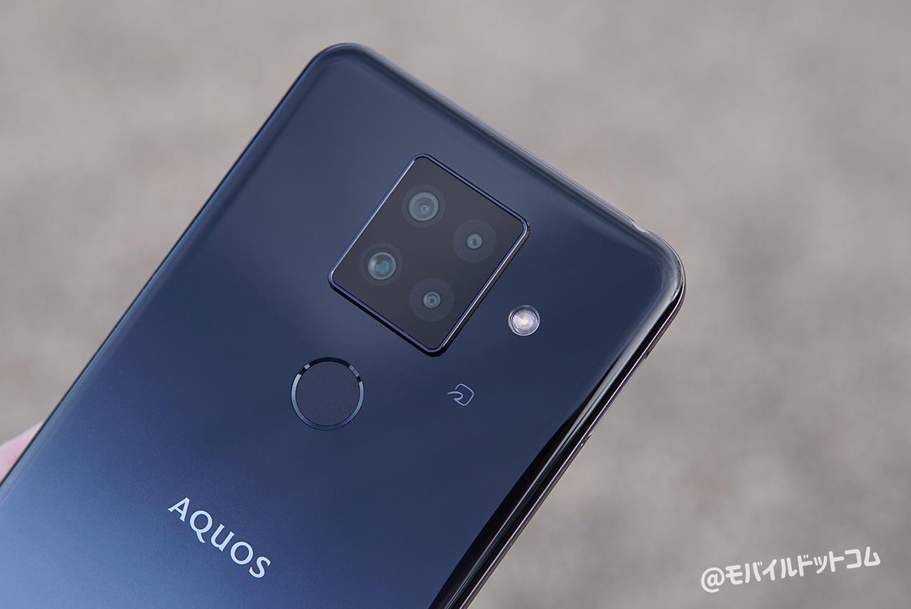 AQUOS sense4 plusのカメラをレビュー