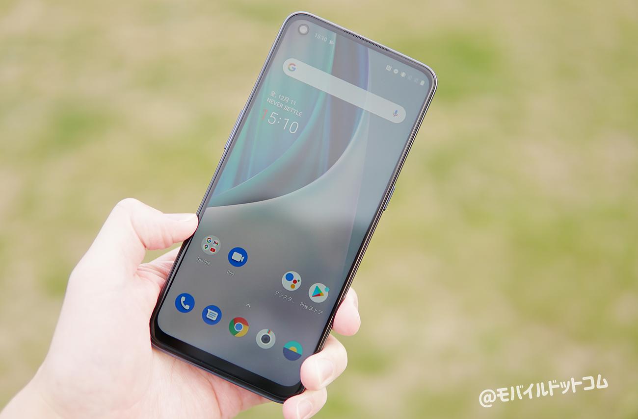 OnePlus Nord N10 5Gのスペック性能をレビュー