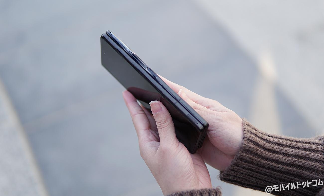 Galaxy Z Fold2 5Gの指紋認証と顔認証をチェック