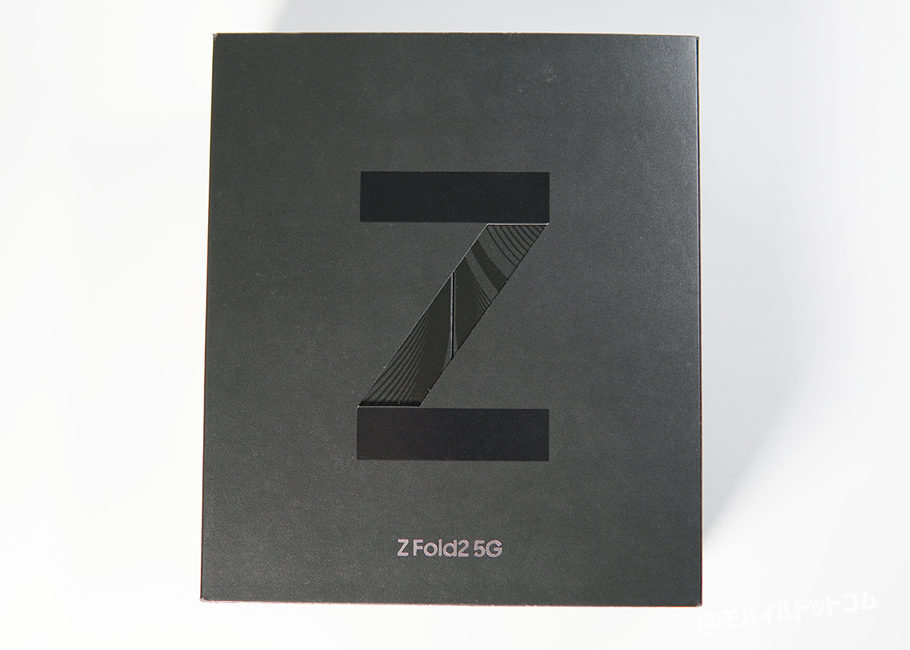 Galaxy Z Fold2 5Gのパッケージ