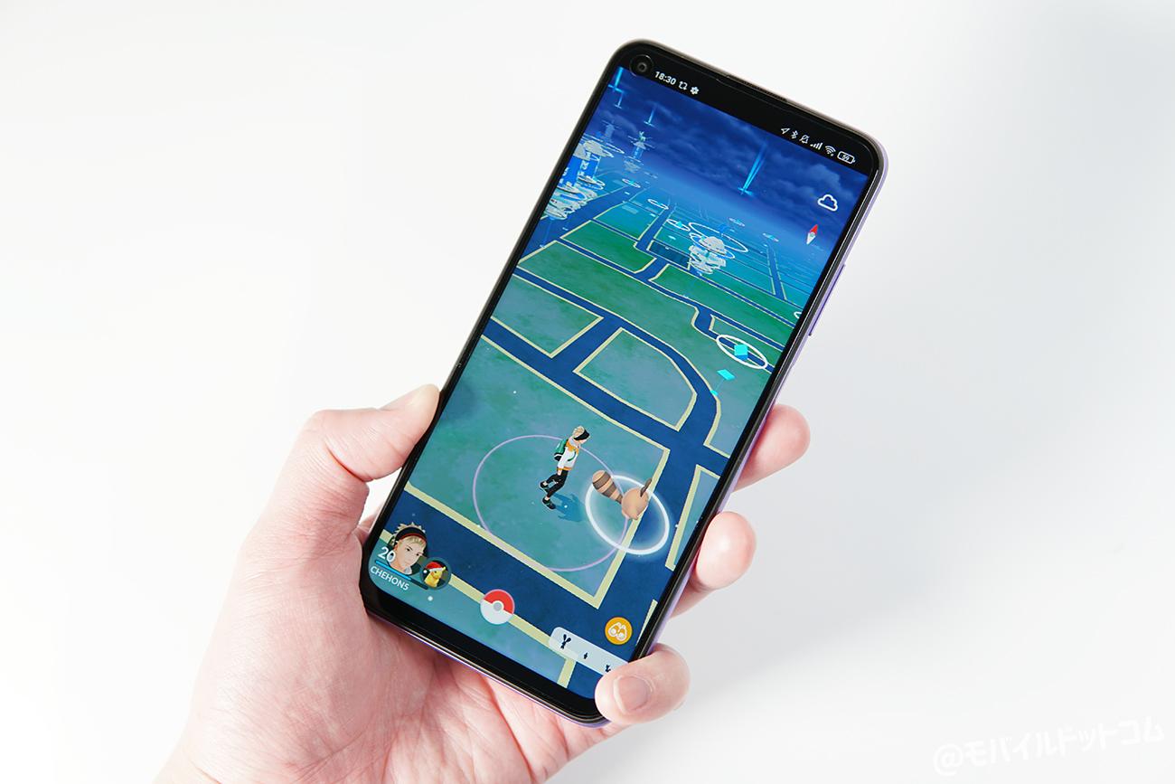 Redmi Note 9TでポケモンGOの動作チェック
