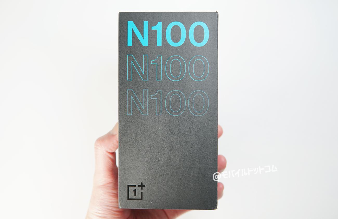 OnePlus Nord N100の外観・デザイン