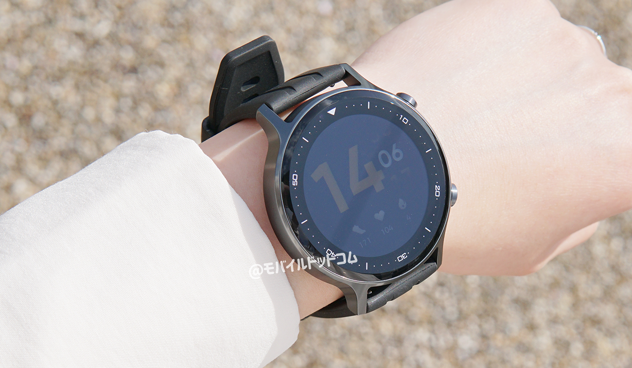 realme Watch Sのディスプレイをチェック