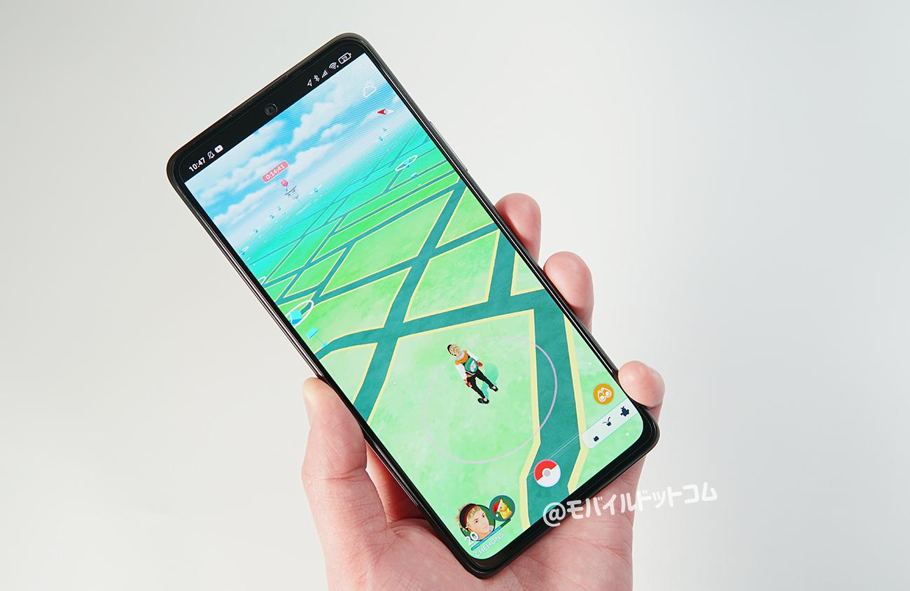 Redmi Note 10 ProでポケモンGOの動作チェック