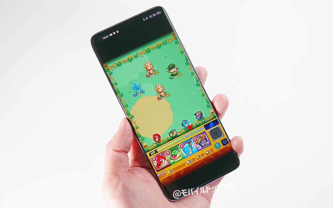 Xiaomi Mi 11でモンストの動作チェック