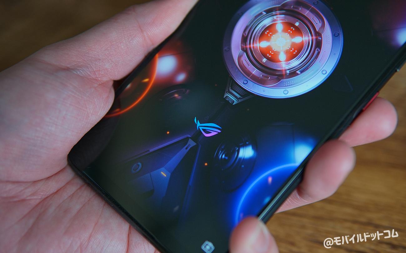 ROG Phone 5の指紋・顔認証をチェック