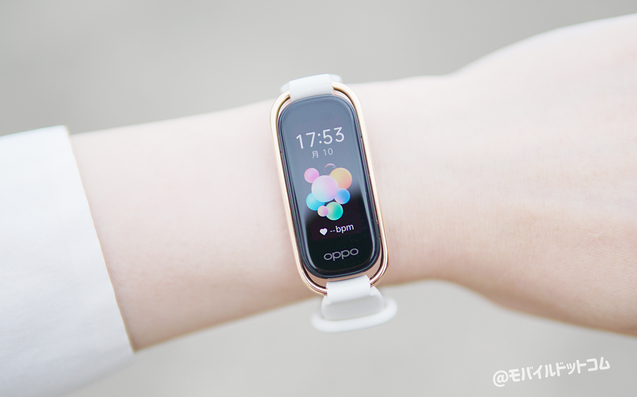 OPPO Band Styleのスペック性能をレビュー