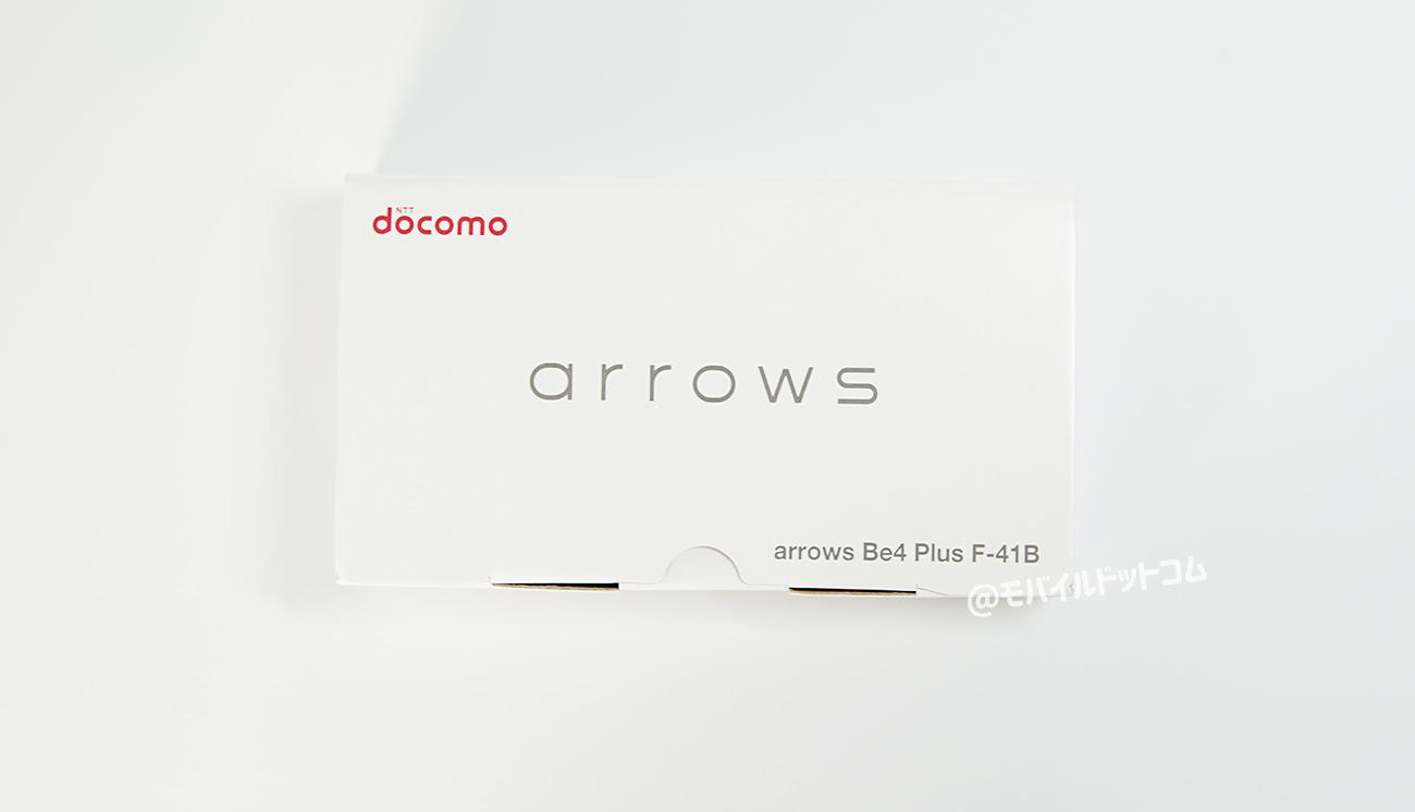 arrows Be4 Plusのパッケージ