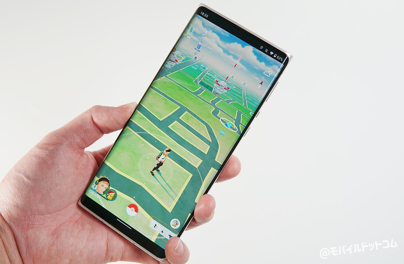 Leitz Phone 1でポケモンGOの動作チェック