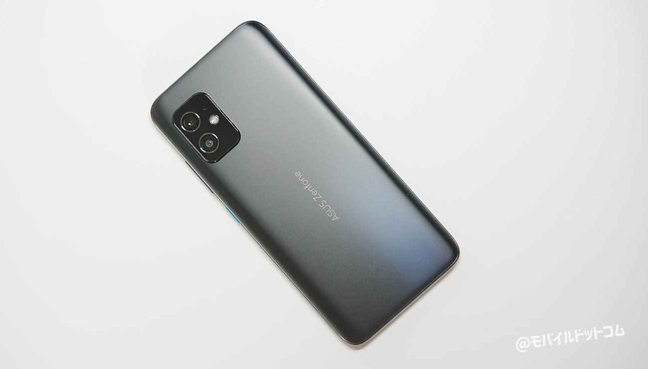 Zenfone 8の背面デザイン
