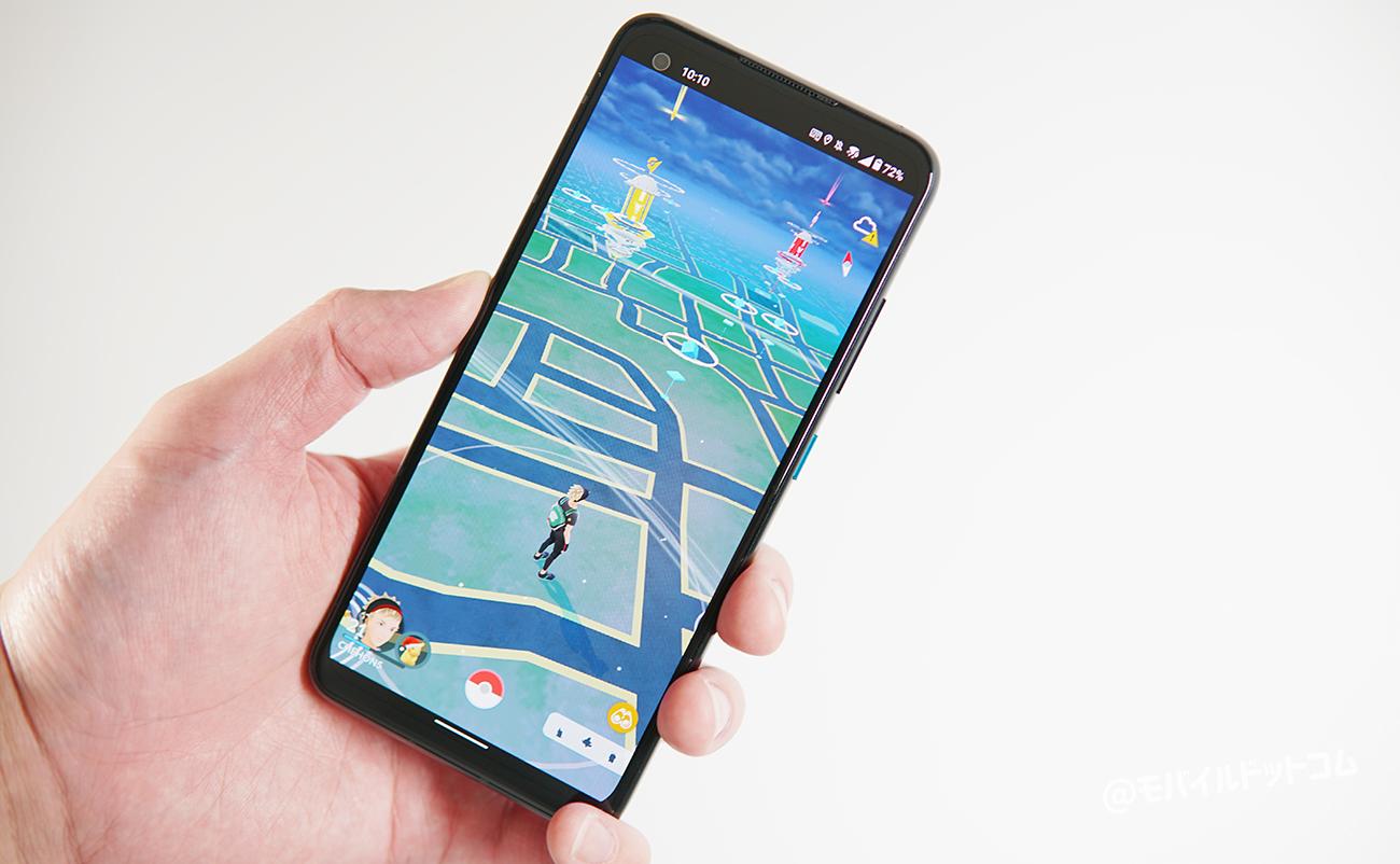 Zenfone 8でポケモンGOの動作チェック
