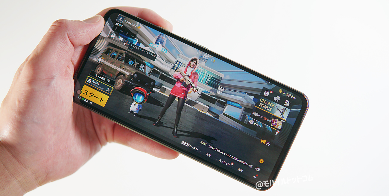 Google Pixel 5aのゲーム・アプリ動作をチェック