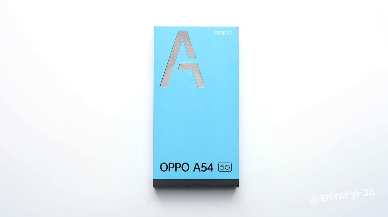 OPPO A54 5Gの外箱