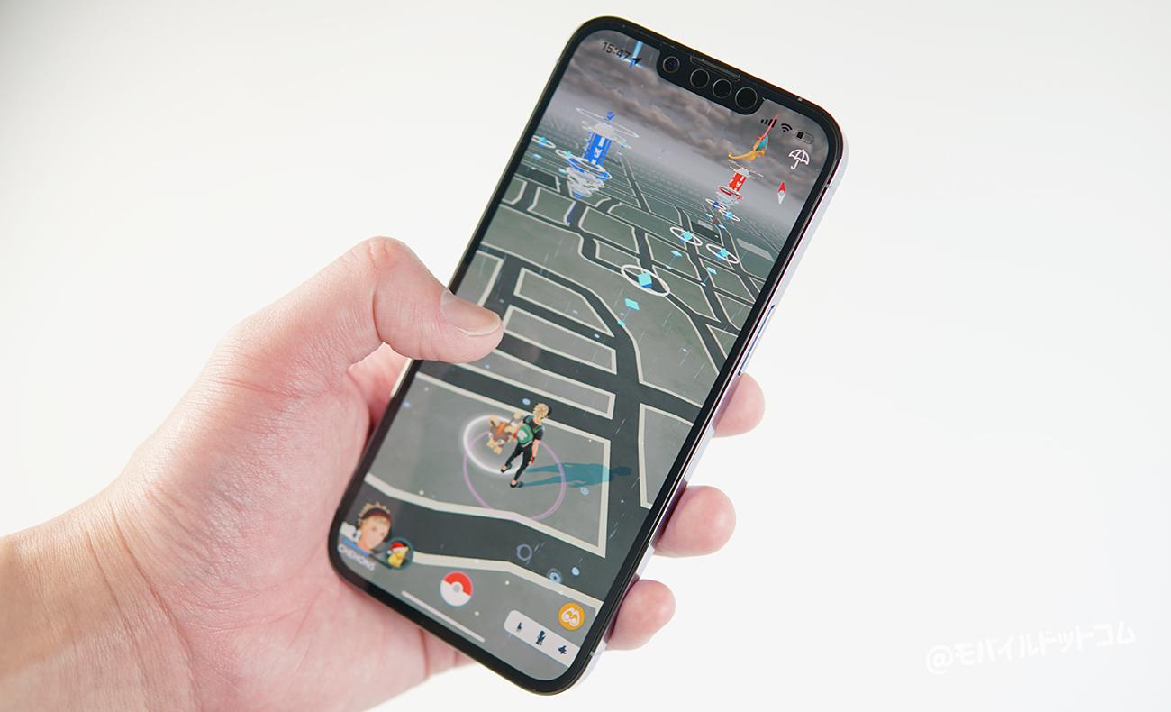 iPhone 13 ProでポケモンGOの動作チェック