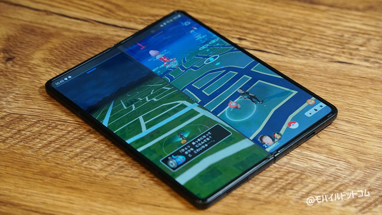 Galaxy Z Fold3 5Gのゲーム・アプリ動作をチェック