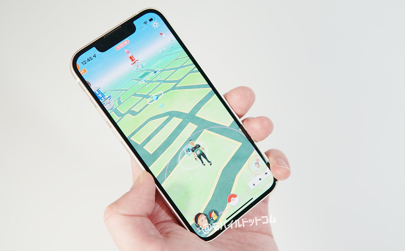 iPhone 13 miniでポケモンGOの動作チェック