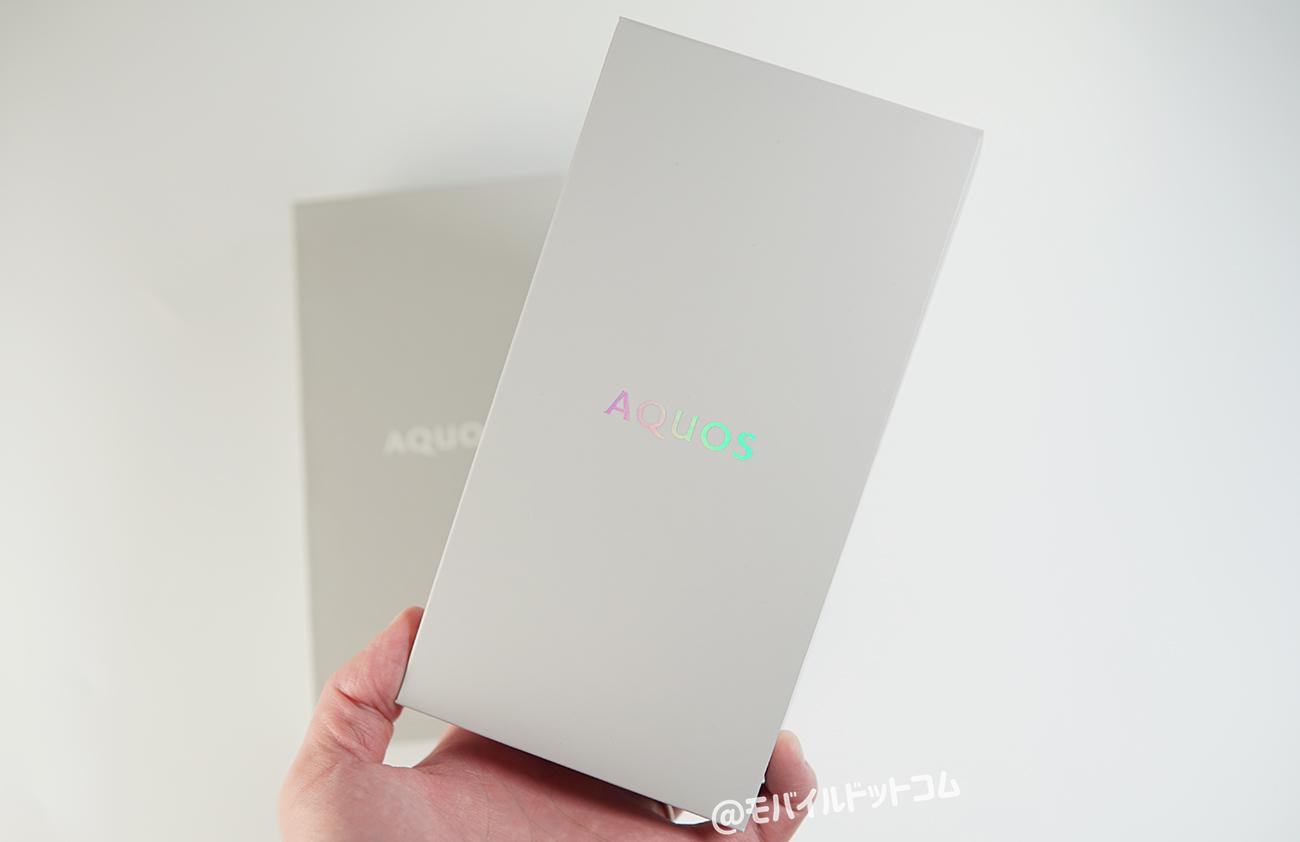 AQUOS zero6のパッケージ